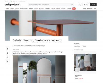 Babele: rigorso, funzionale e colorato