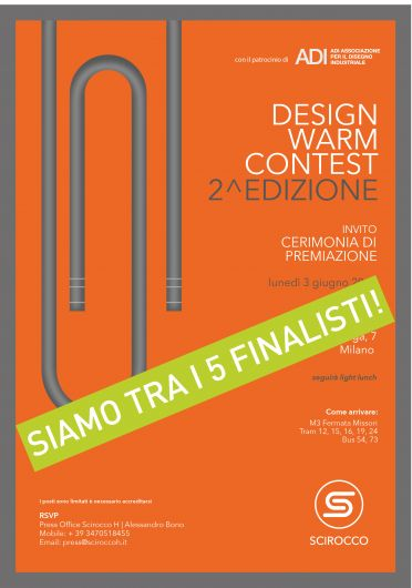 Design Warm Contest / SCIROCCOH