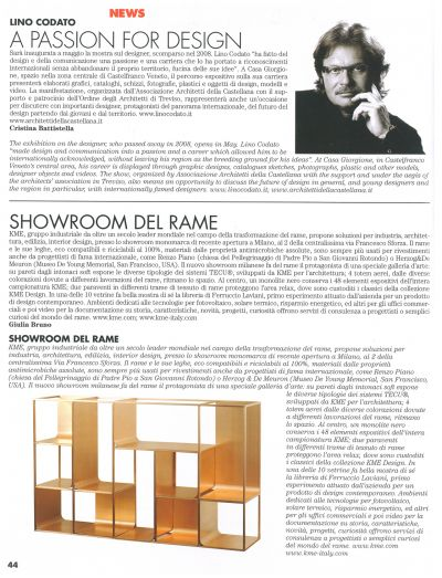 Press - Lino Codato Designer