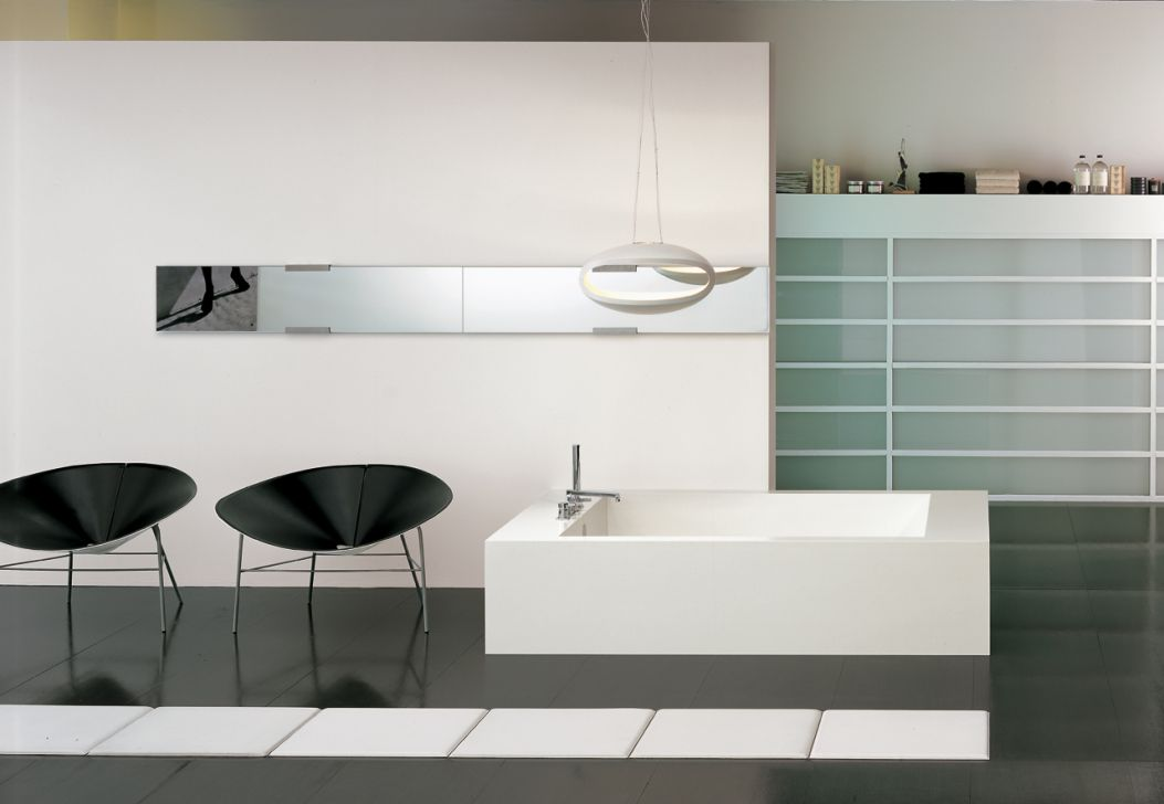 White / Axia Bath Collection - Lino Codato Design & Communication