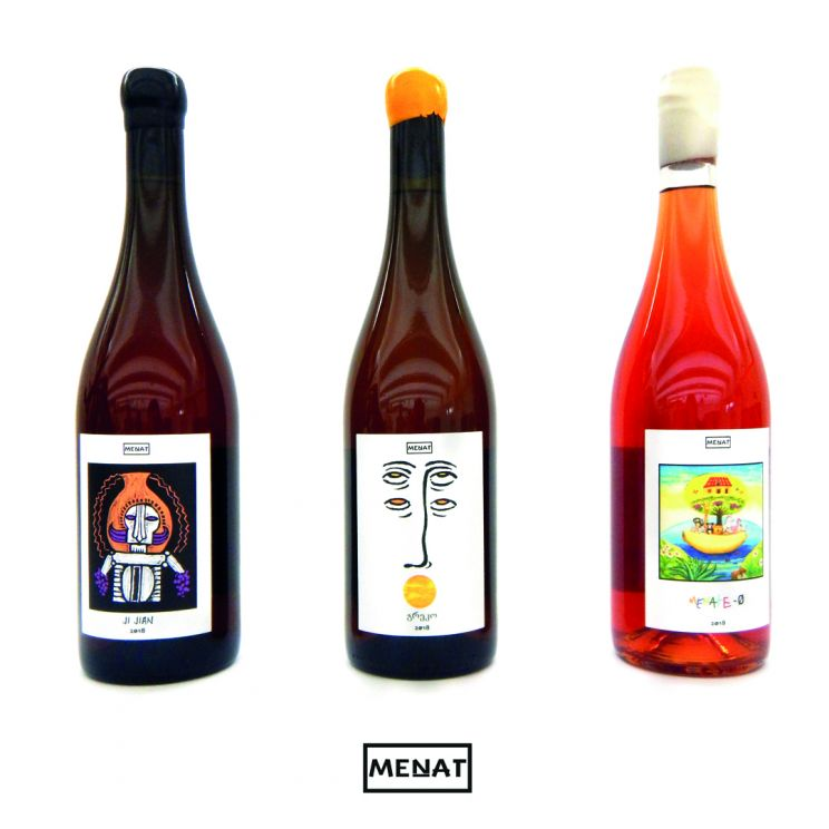MENAT / Wine Brand - Lino Codato Design & Communication