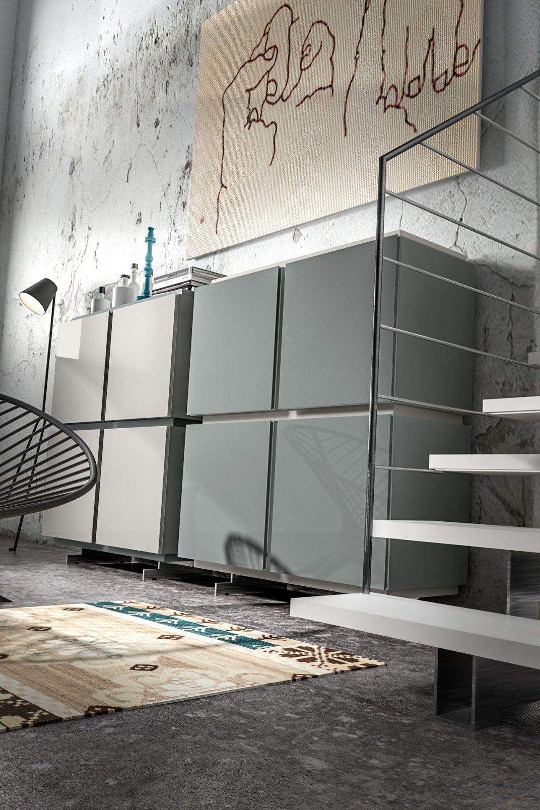 Madia SX Modulo / Veneran - Lino Codato Interior Design