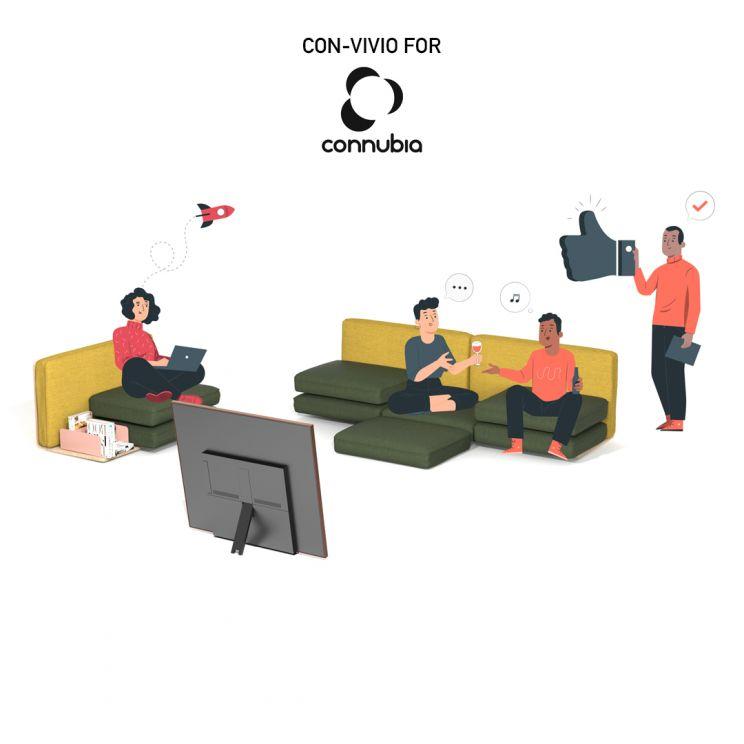 CON-VIVIO / Connubia - Lino Codato Design & Communication