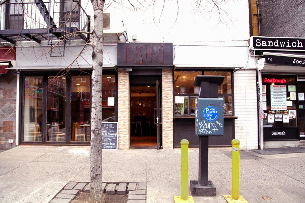 Rustico Wine Bar / NYC - Lino Codato Interior Design