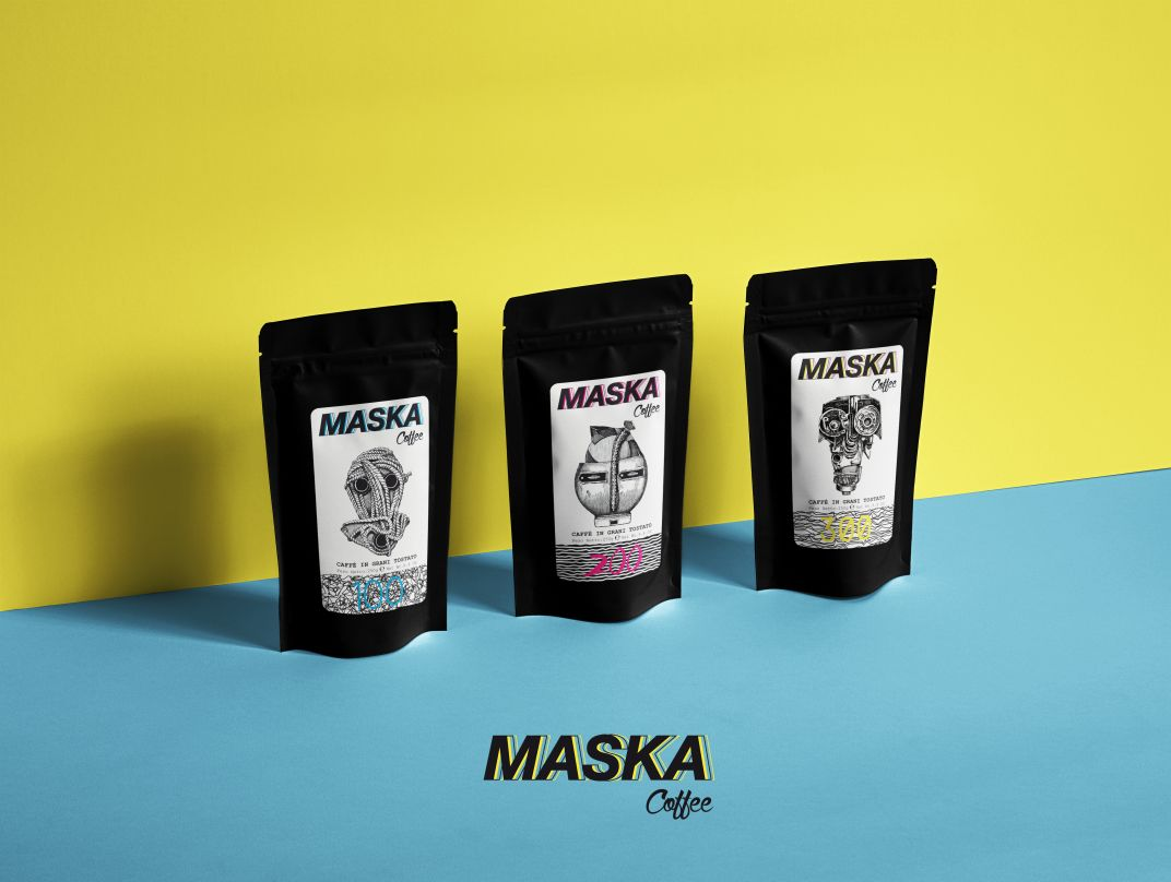 Maska Coffee  / NYC - Lino Codato Interior Design