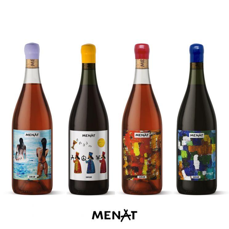 MENAT /Wine Brand - Lino Codato Designer
