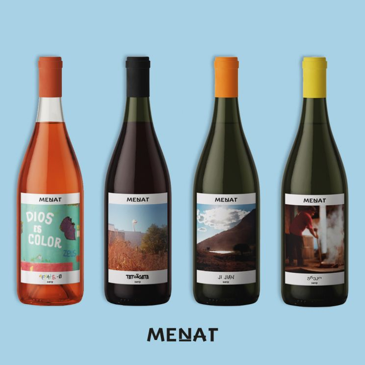 MENAT /Wine Brand - Lino Codato Design & Communication